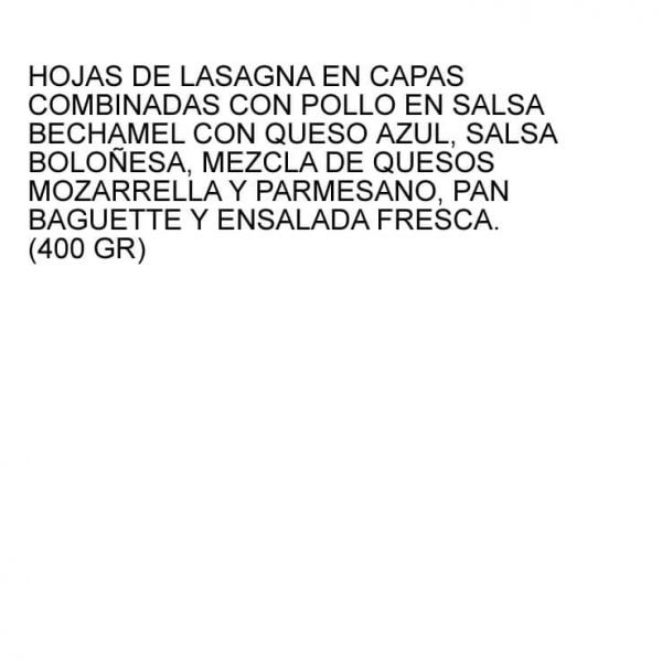 lasagnaproducto